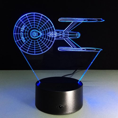 Star Trek 3D LED Lamp 13