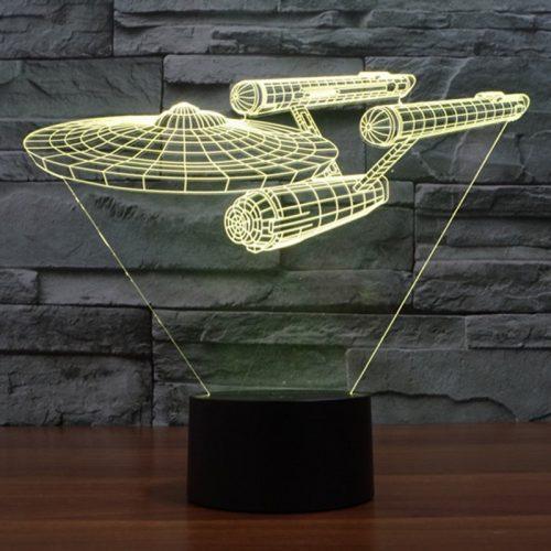 Star Trek 3D LED Lamp 6