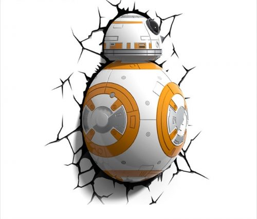 Star Wars BB-8 3D LED Wall Lamp 5