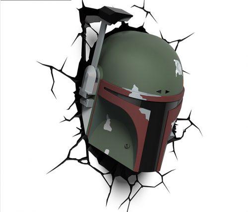 Star Wars Bob Fett 3D Wall LED Lamp 3