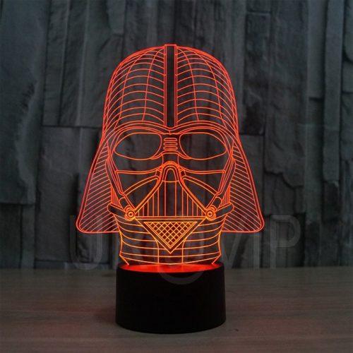 Star Wars Darth Vader 3D LED Lamp 1