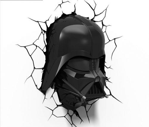 Star Wars Darth Vader 3D LED Wall Lamp 3