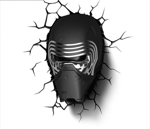 Star Wars Kylo Ren 3D LED Wall Lamp 1