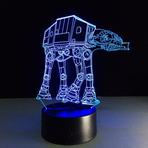 Star Wars Snow-Walker 3D LED Lamp 3