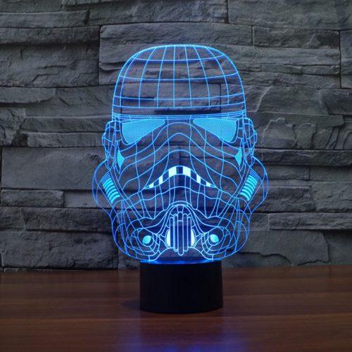 Star Wars Stormtrooper 3D LED Lamp 5