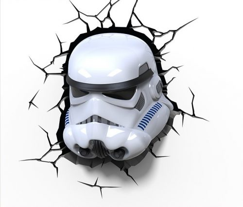 Star Wars Stormtrooper 3D LED Wall Light 5
