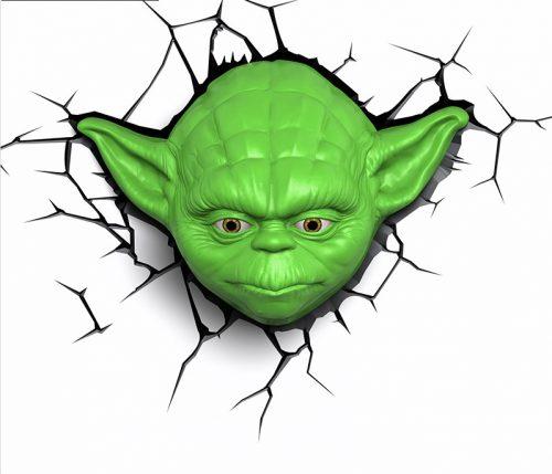 Star Wars Yoda 3D LED Wall Lamp 5