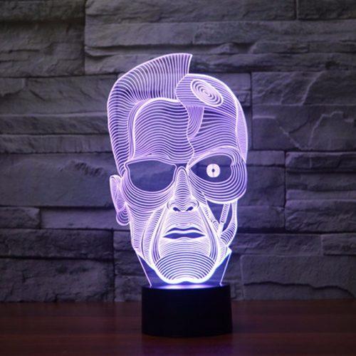 Terminator 3D LED Lamp 4