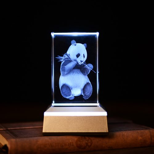 3D Crystal Panda Lamp 3