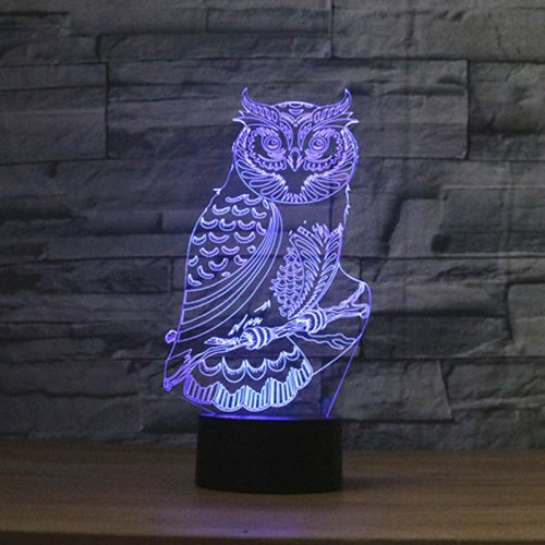 Night Owl 3D LED Lamp 2