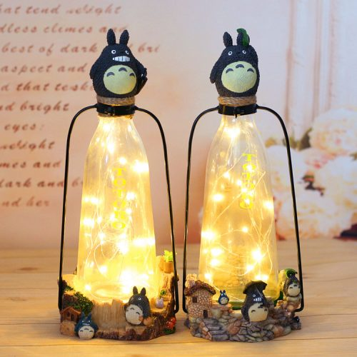 Novelty Copper Wire Night Light Amazing Resin table Lamp 1