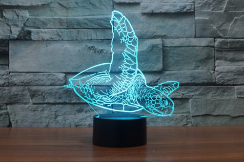 Swimming Turtle 3D LED Lamp 4