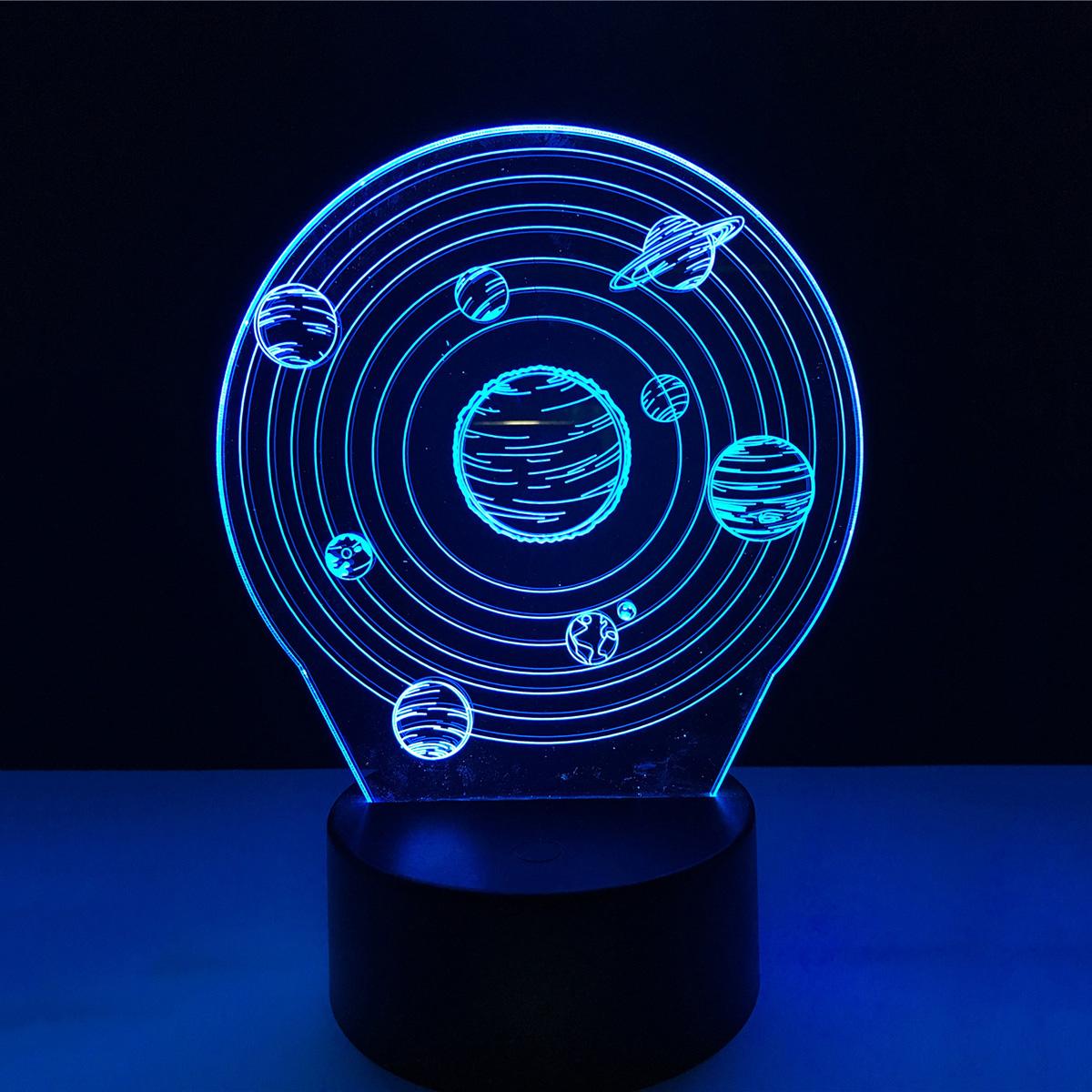 Calming Room Solar System 3d Led Lamp