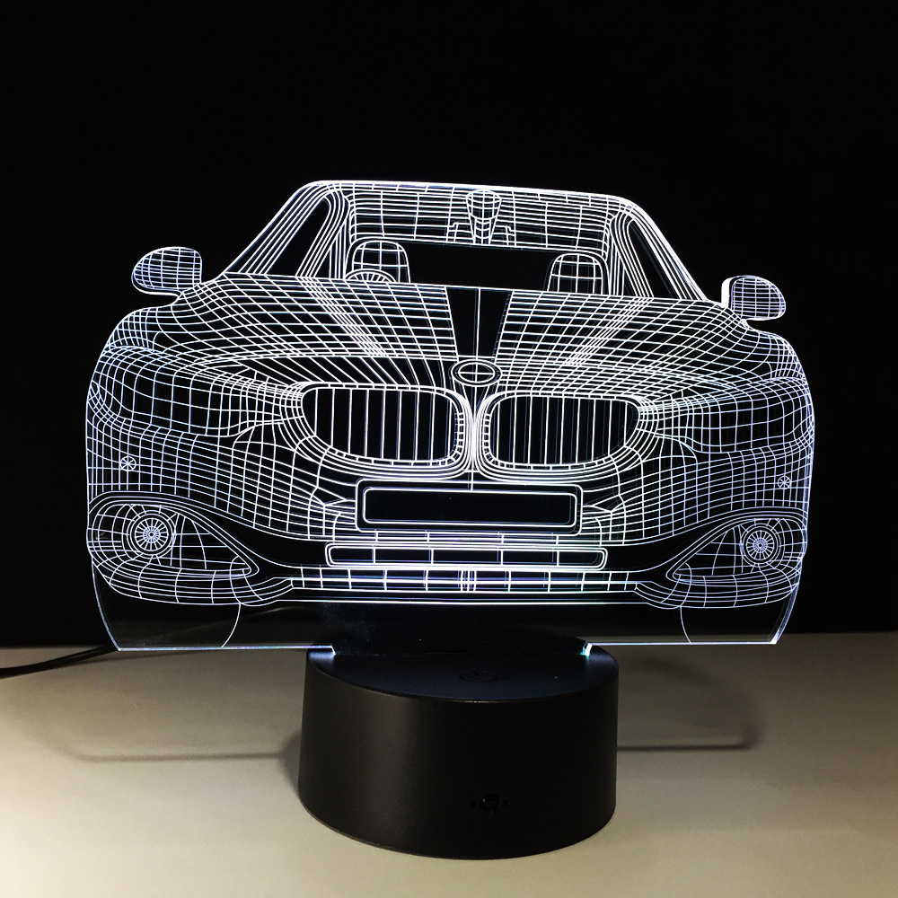 BMW Luxury Car 3D LED Lamp